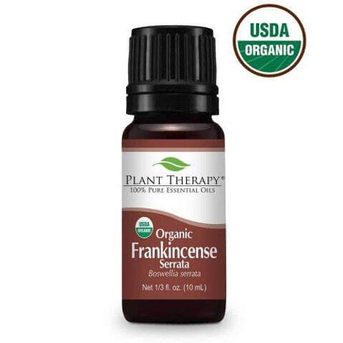 Plant Therapy Organic Frankincense Essential Oil Undiluted 10m/L