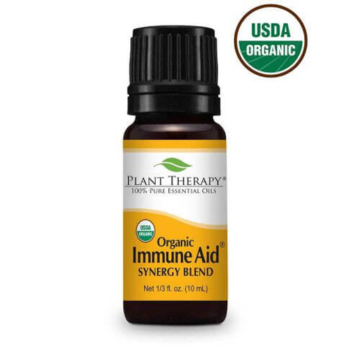 Plant Therapy Organic Immune Aid Synergy Blend Undiluted Essential Oils 10mL