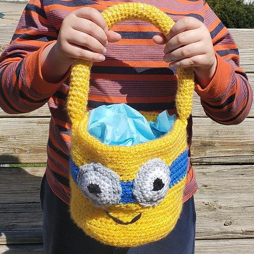 Crocheted Easter Basket