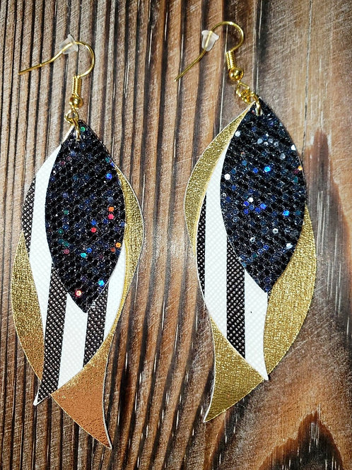 Erin Paul 3 Layer Faux Earrings