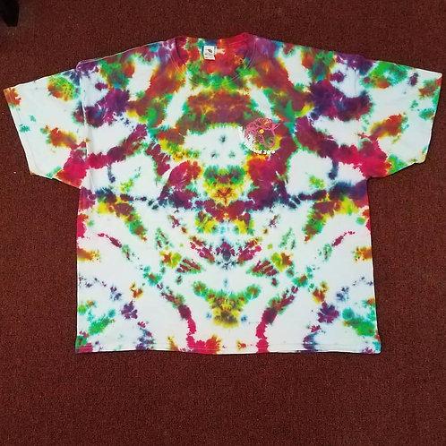3XL Brain Washed 70's Tie Dye