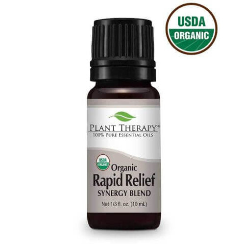 Plant Therapy Organic Rapid Relieve 10 mL Undiluted