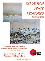 Juin à septembre 2014 - Exposition au restaurant Fenêtre sur Cour à Lyon
