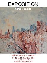 Exposition à Venelles - Voûte Chabaud du 10 au 11 décembre 2016