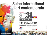 Salon Art3f à Nice du 14 au 16 octobre 2016