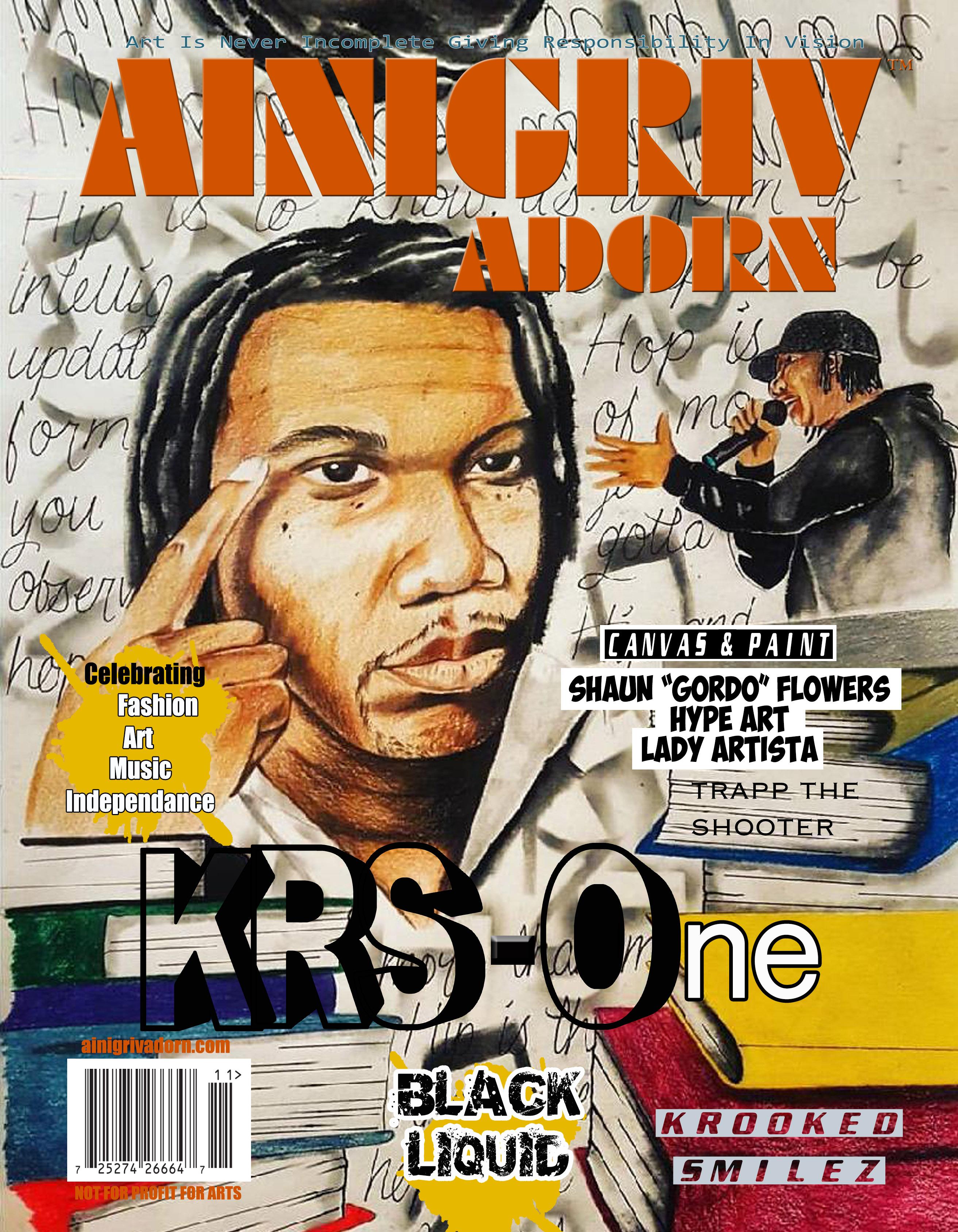AINIGRIV ADORN KRS 1 COVER