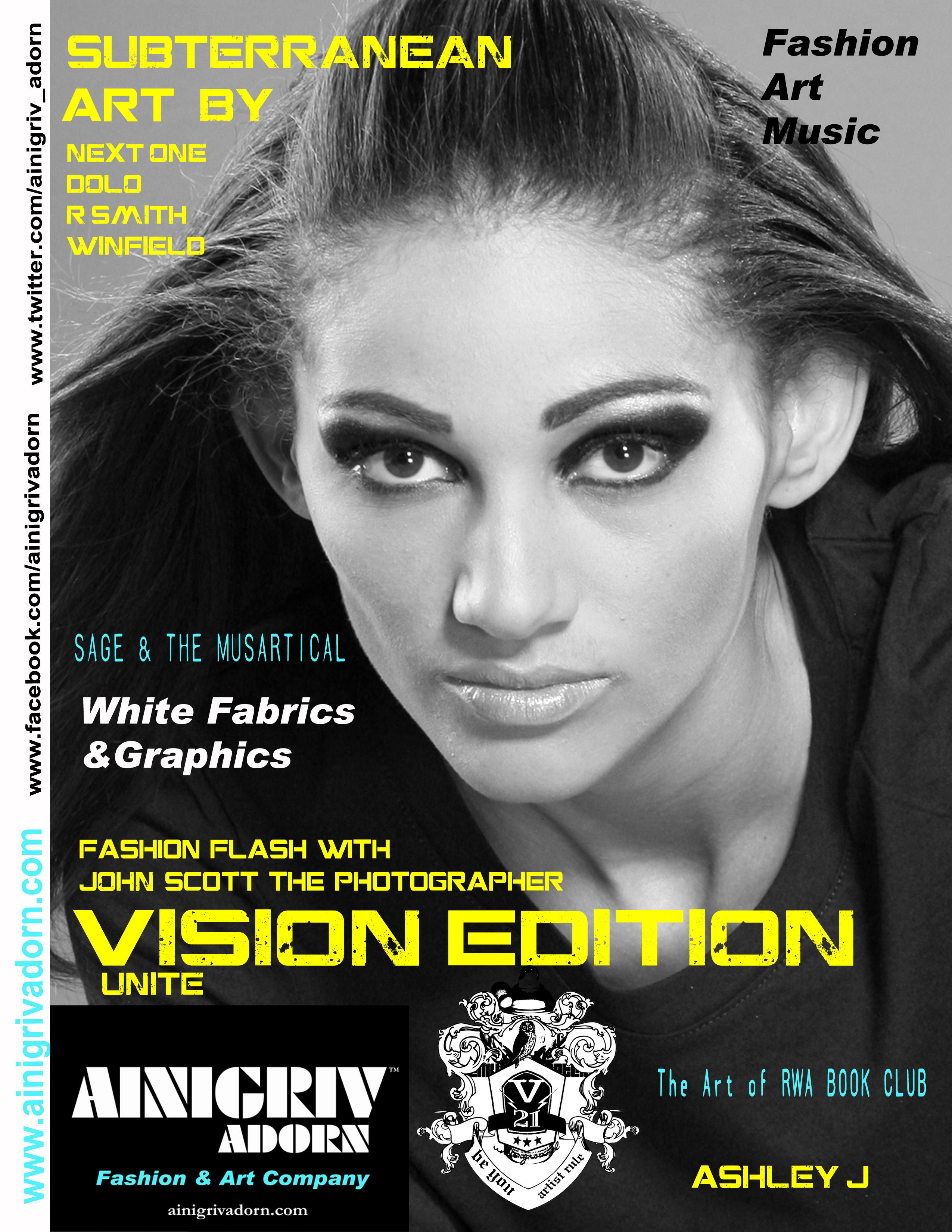 Ainigriv Adorn Look Book Magazine 1
