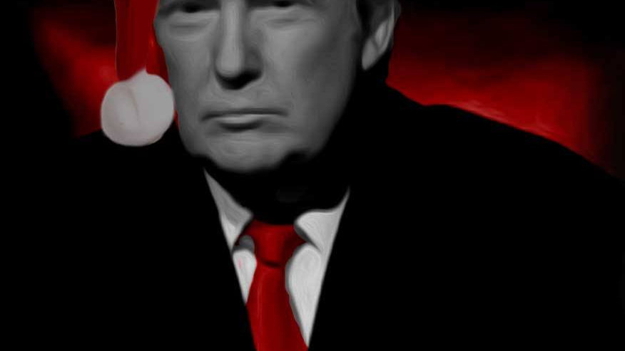 TRUMP OUR NEW PRESIDENT CHRISTMAS