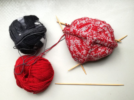 Knitting is...My Therapy