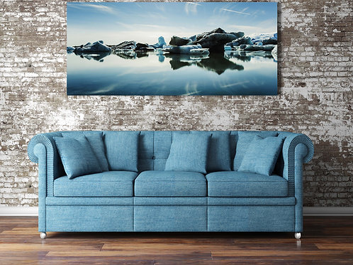 Glacier Lagoon Canvas
