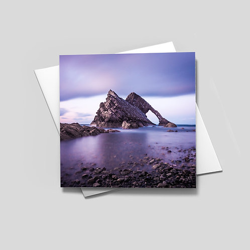 Bow Fiddle Rock Card