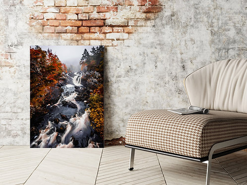 Rogie Falls Canvas