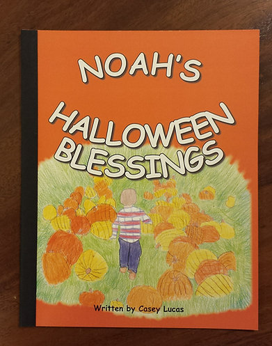 Noah's Halloween Blessings Book
