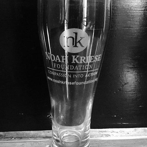 Noah's 21st Birthday Glass