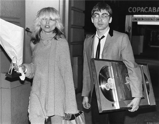 Debbie Harry and Chris Stein by Bob Gruen. 1978