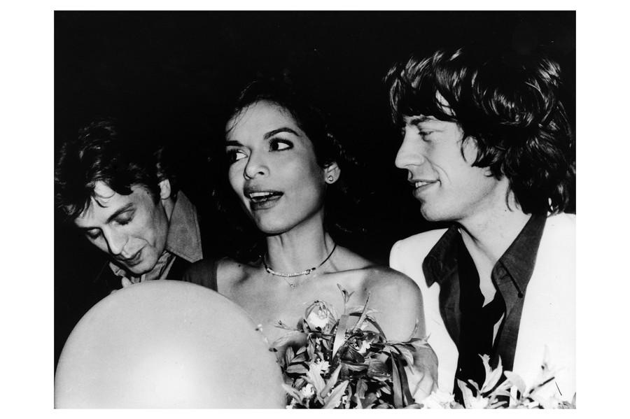 Baryshnikov with Jaggers at Studio 54