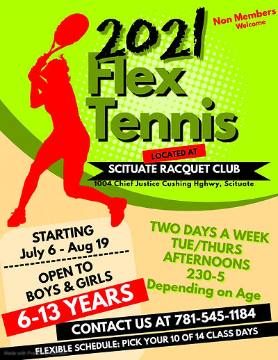 Copy of Tennis Camp Flyer - Made with Po