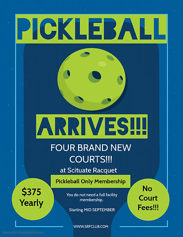 Copy of PICKLEBALL - Made with PosterMyW