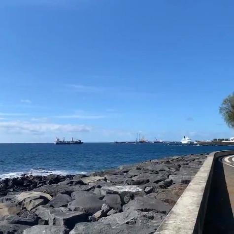 Avenida do Mar, circuito fitness e pista de cycling.
