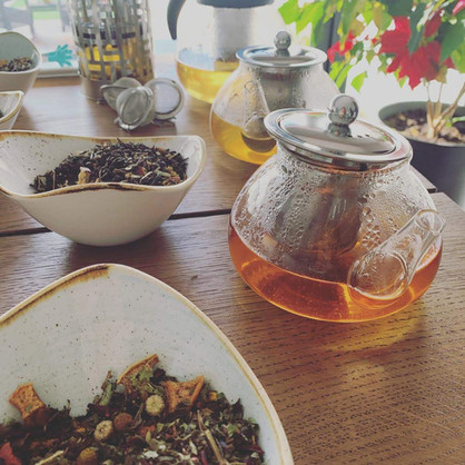 Praia de Santos Guesthouse Details - Tea blends