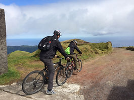 biking tours azores, azores bike rental, cross country azores