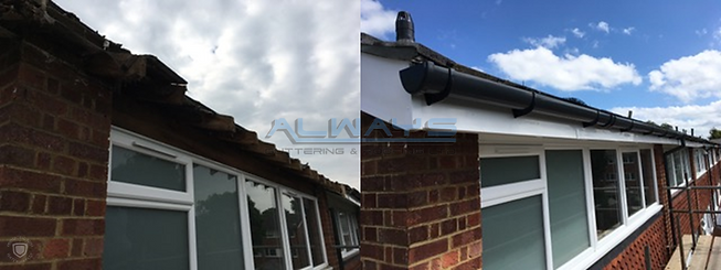 Replacement UPVC Fascia Soffits and Gutt