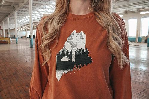 Base Camp Unisex Dyed LS Shirt