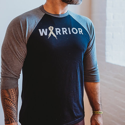 Warrior Gold Men's 3/4 Shirt
