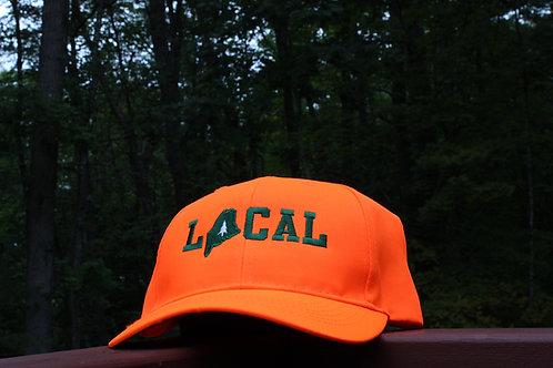 LOCAL Blaze Orange Cap