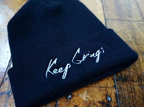 Keep Going; Knit Cap