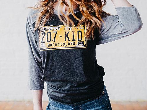 207 Kid State Plate Unisex 3/4