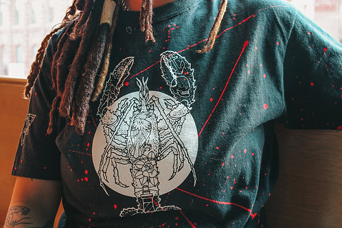 Tattooed and Lobstered Unisex Tie Dye Shirt