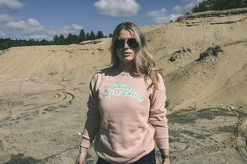 Thicc Girl Fall Fleece Sweater