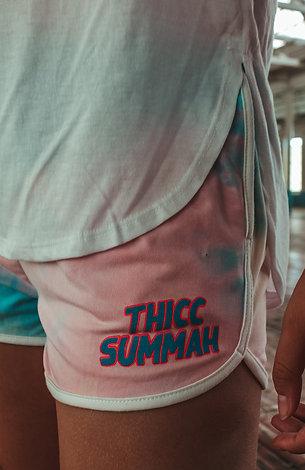 THICC Summah Tie Dye Shorts