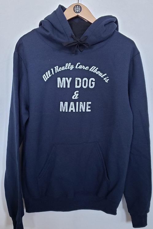 My Dog & Maine Unisex Hoodie