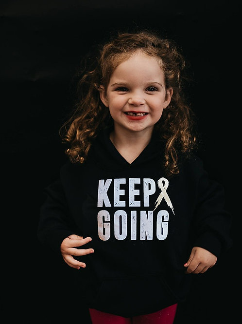 Keep Going Youth Hoodie (Mulitcolor)
