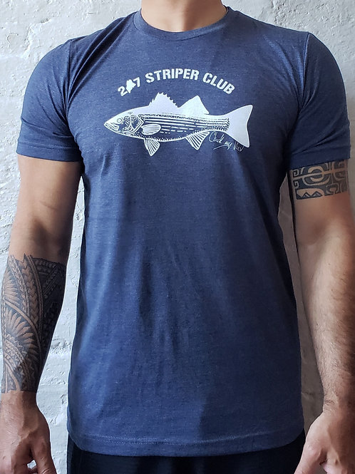 Maine Striper Club Men's Shirt