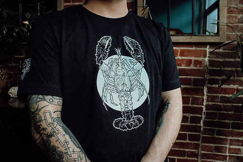 Tattooed and Lobstered Men's Shirt