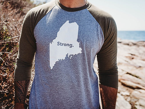 Maine Strong Unisex 3/4