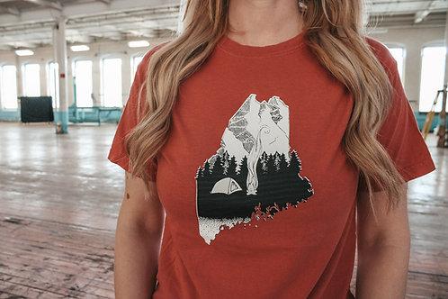 Base Camp Unisex Dyed Shirt