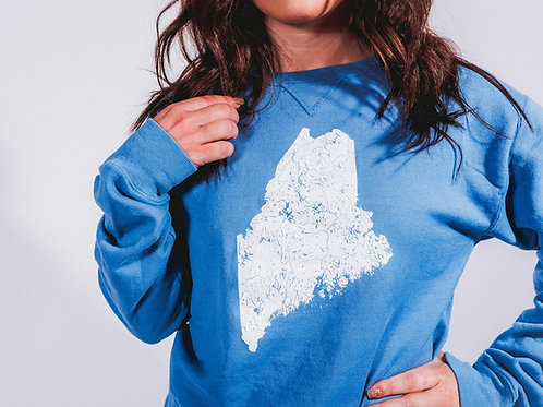 Watershed Unisex Dyed Crewneck Sweater