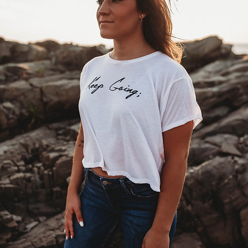 Keep Going Cropped Shirt V1