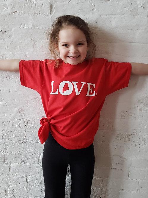 Maine Love Youth Shirt