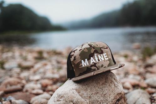 Maine Fishing Series Meshback