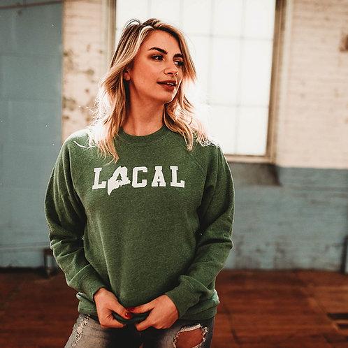 Unisex Local Raglan Sweatshirt