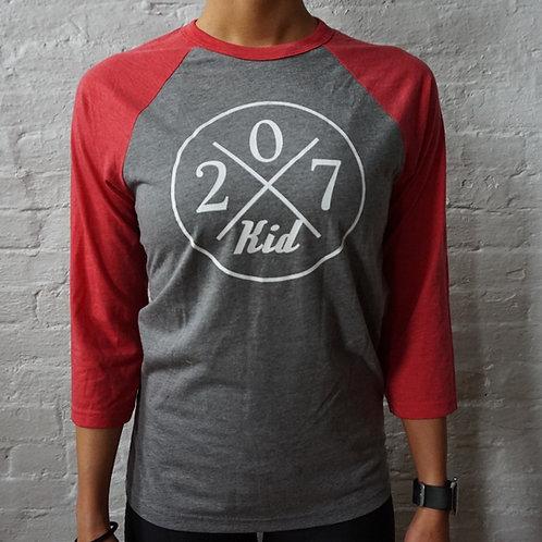 207 Kid 3/4 Baseball Shirt V2