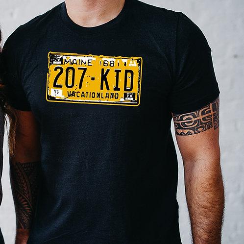 Codes State Plates Men's Shirt