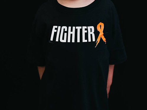 Fighter Ribbon Youth Shirt (Multicolor)