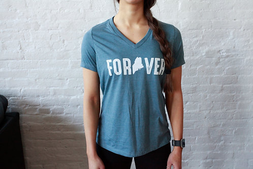 Forever Women's V-Neck Shirt