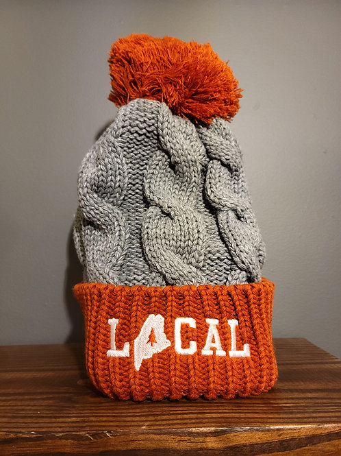 Local Cable Knit Pom Beanie